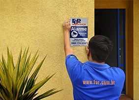 Alarme de segurança residencial