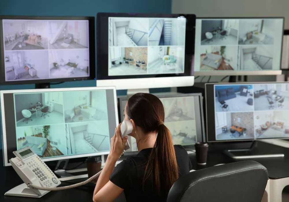 Monitoramento de câmeras