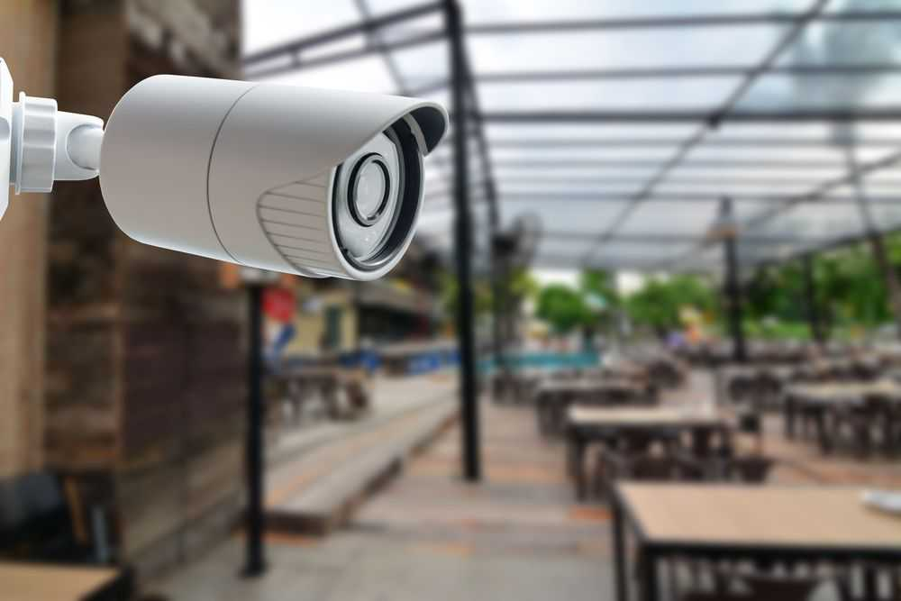 Sistema de monitoramento de câmeras e alarmes