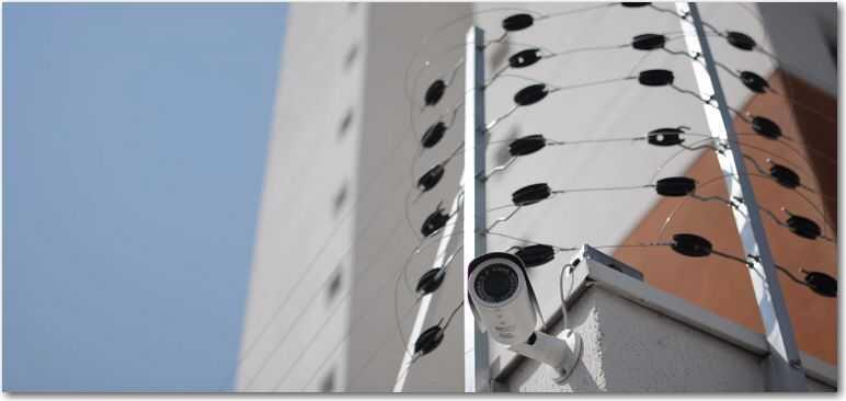 Sistema de monitoramento para condomínios